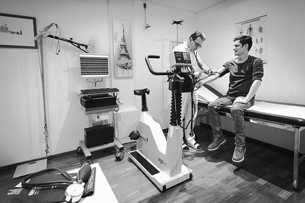 Ergometrie | Belastungs EKG | Fitness | Trainingsprogramm